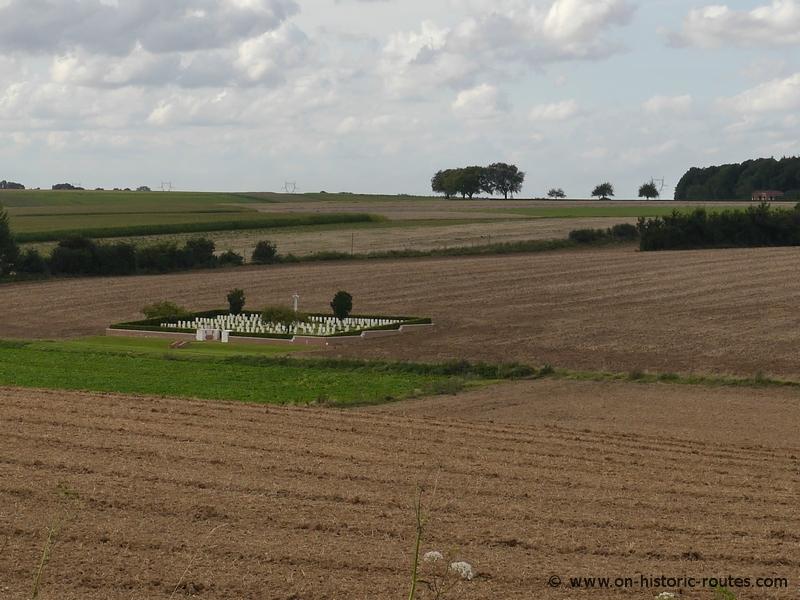 Cemetery near Poziéres