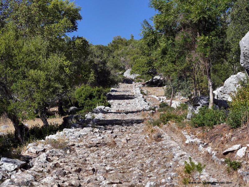 Roman road in Andalusia